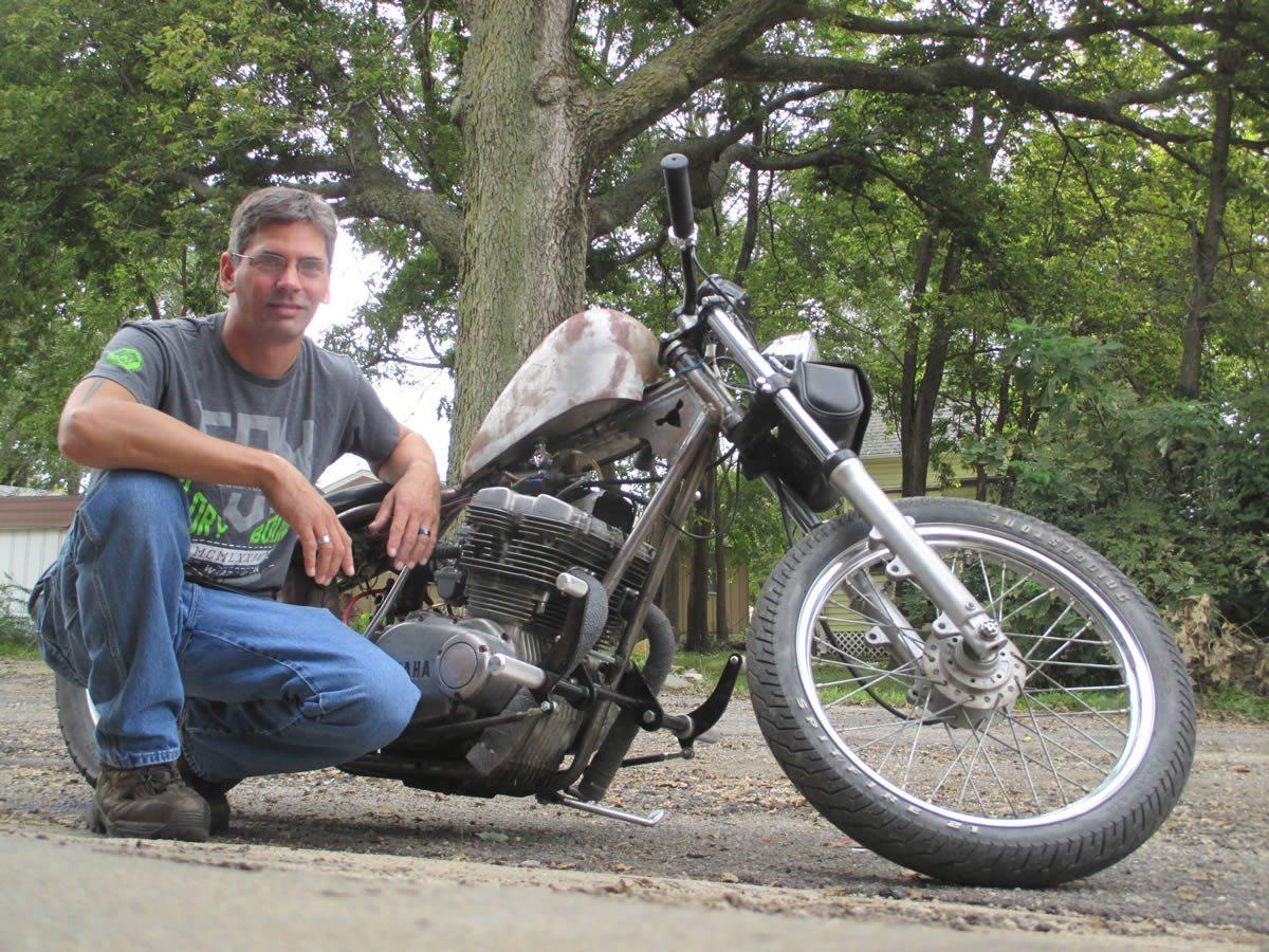 Jeremy Huff Yamaha XS500 brat