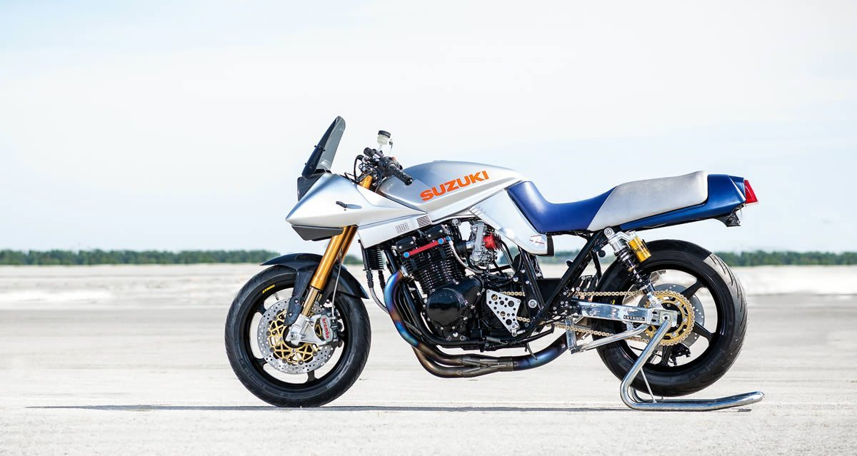 custom suzuki katana restoration by acp