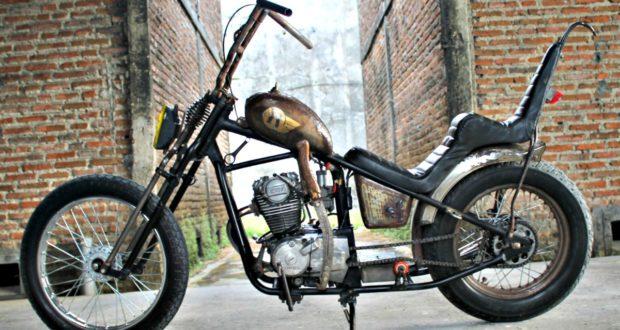 Honda Gl160 Chopper By K Kustom Amp Tawonndaz Garage