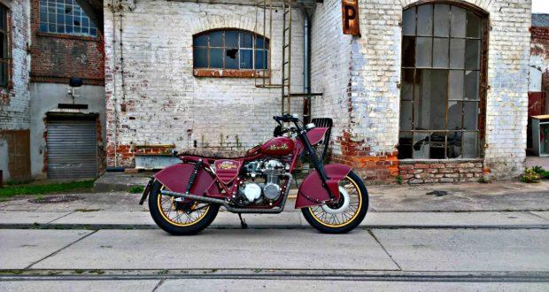 markus' custom honda cb550f