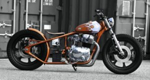 Yamaha XS400 bobber