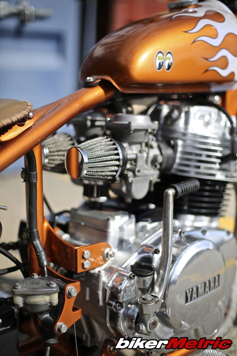 yamaha xs400 bobber motor