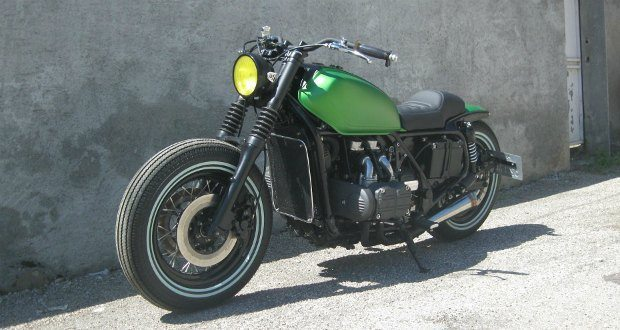 1983 Gl1100 Bobber Richard Becker Bikermetric