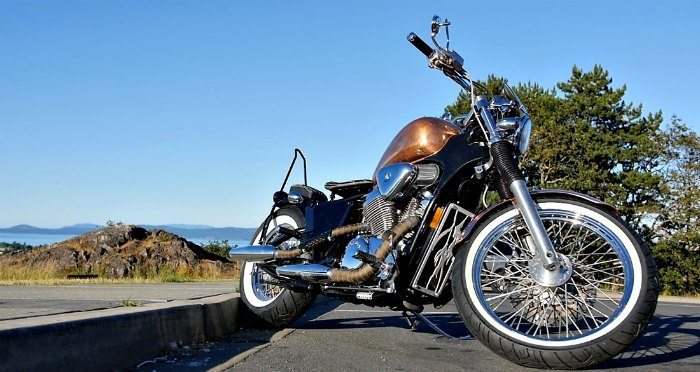 honda shadow bobber vt600