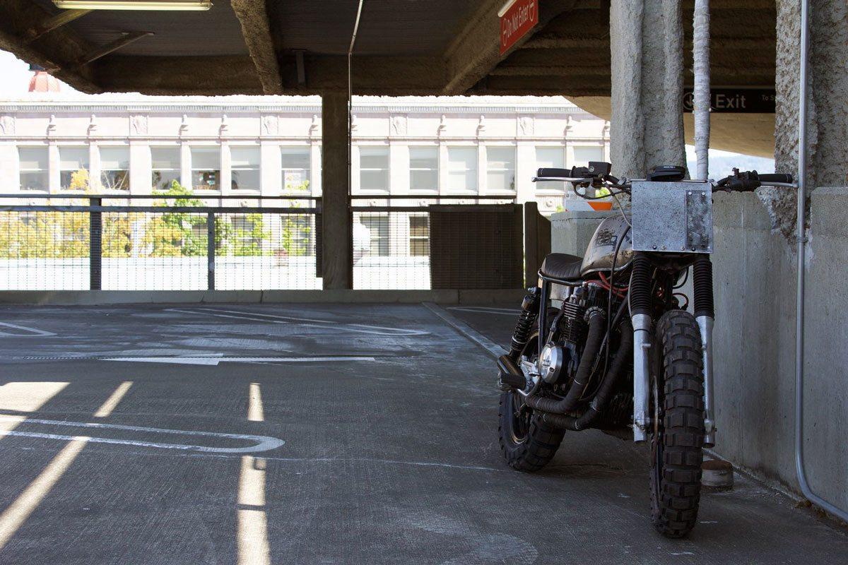 custom Honda CB650 - droog moto