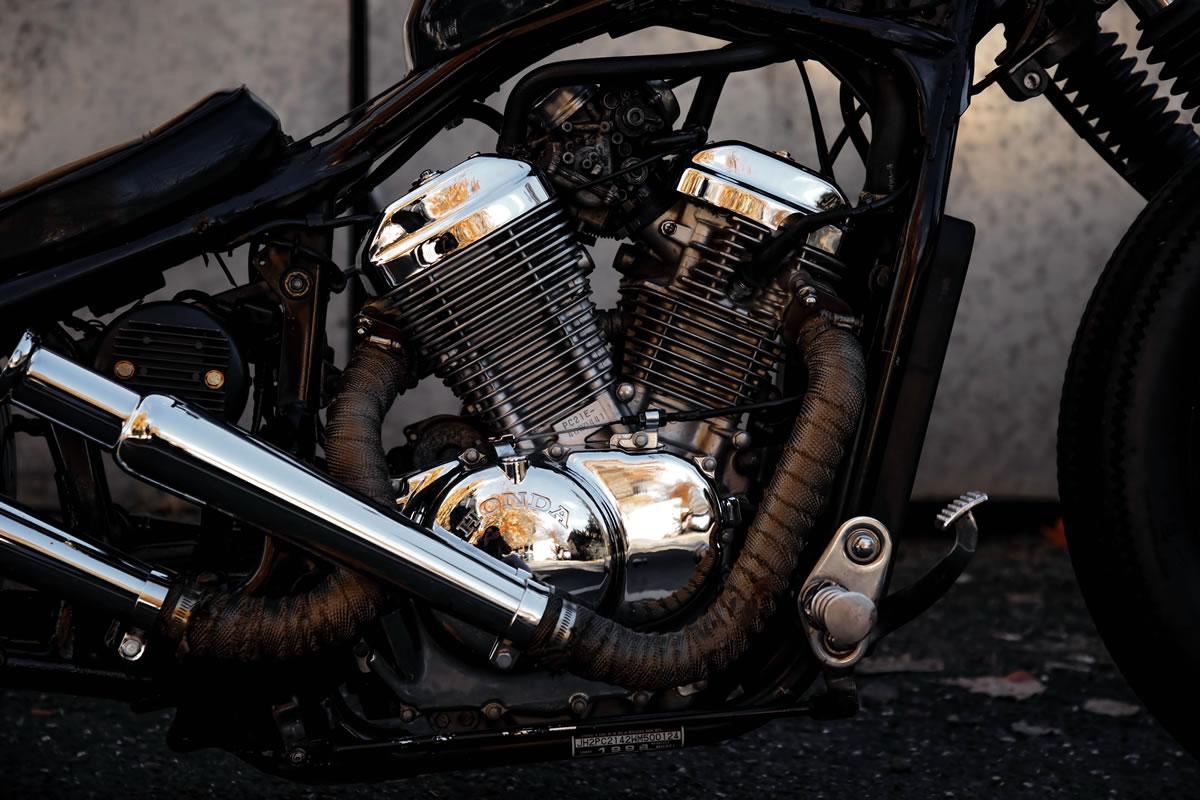 honda shadow bobber engine