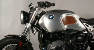 custom motorcycles with real wood veneer