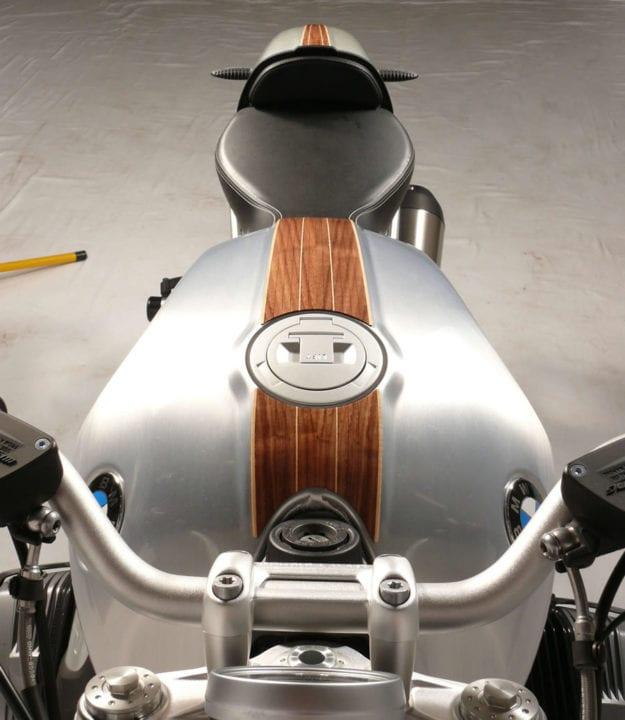 custom motorcycles with real wood veneer - bikerMetric