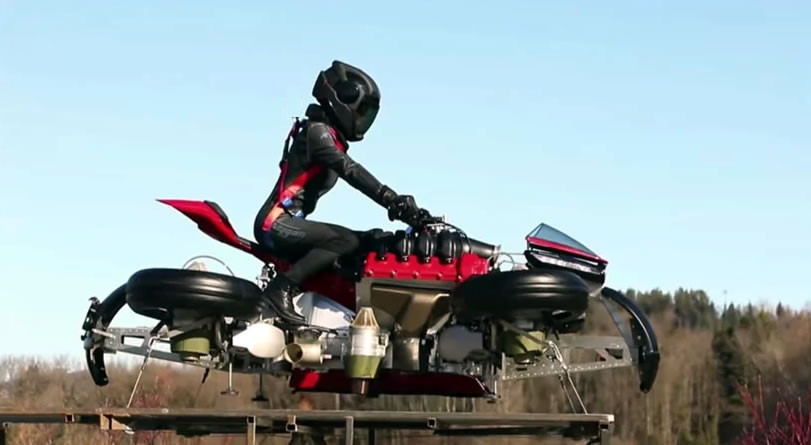 lazareth's flying motorcycle